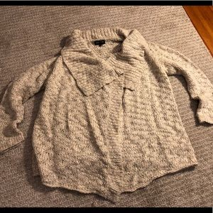 Jones of NY XL shawl collar wrap cardigan sweater